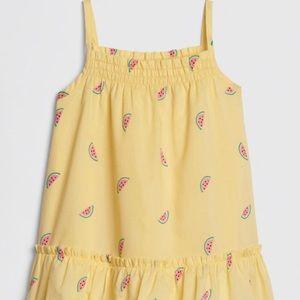 Baby smocked watermelon dress